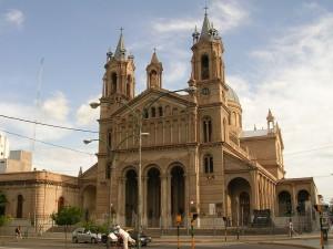 Postal: Catedral y Basílica de San Nicolás de La Rioja (Argentina)