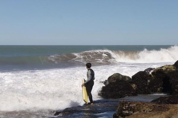 Playas para practicar bodyboard (Mar del Plata, Argentina)