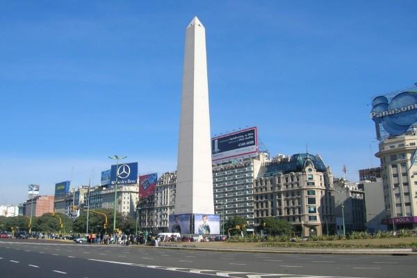 Obelisco de Buenos Aires y Plaza de la República, Argentina