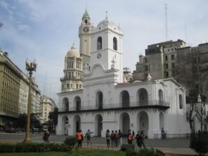 Postal: Cabildo de Buenos Aires (Argentina)