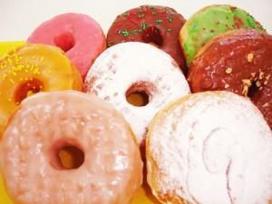 Postal: Donuts de diferentes sabores