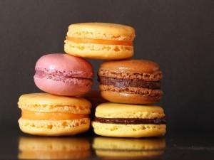 Postal: Macarons variados