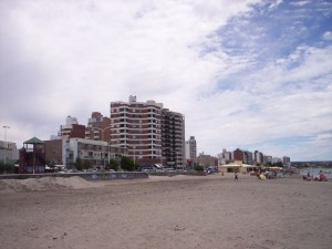 Playa en Puerto Madryn (Chubut, Argentina)