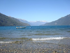 Postal: Lago Puelo, provincia del Chubut (Argentina)