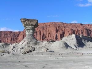Postal: Ischigualasto o Valle de la Luna, San Juan, Argentina