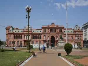 Postal: Casa Rosada, Buenos Aires, Argentina