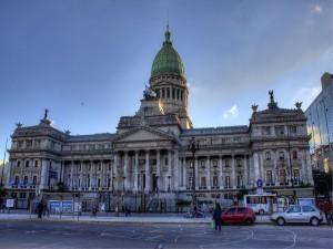 Postal: Congreso Nacional (Buenos Aires, Argentina)