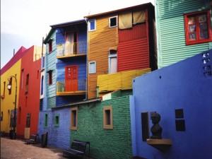 """Barrio de """"La Boca"""", Buenos Aires, Argentina"""