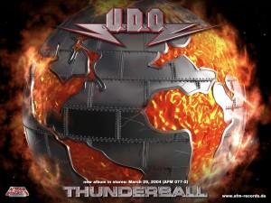 Postal: Thunderball (álbum del grupo U.D.O.)