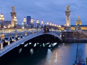 Puente Alejandro III (París, Francia)