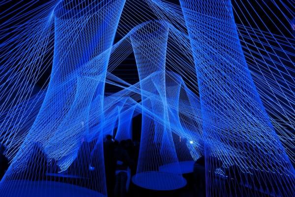 """Resonate"" en el Festival Luminale 2012 (Frankfurt, Alemania)"