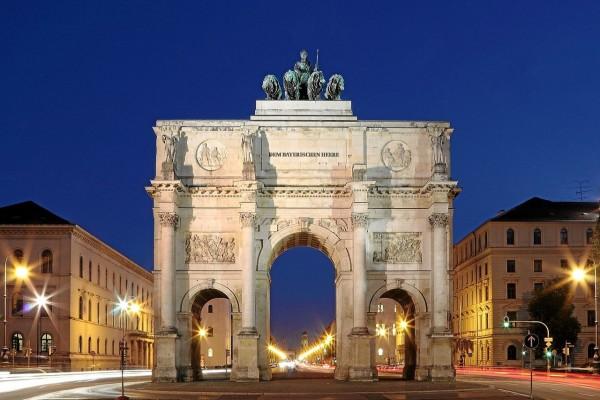 El Siegestor en Munich (Alemania)