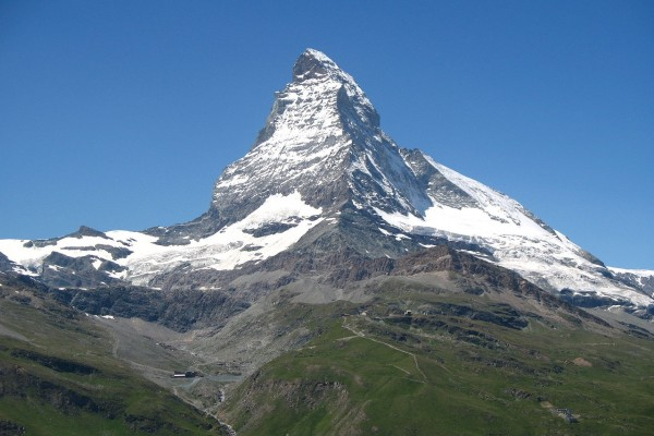 El Matterhorn visto desde Gornergrat Bahn (Suiza)