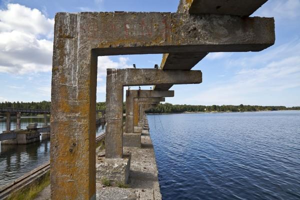 Antigua base soviética de submarinos, Parque Nacional Lahemaa, Estonia