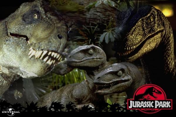 "Dinosaurios en ""Jurassic Park"" (Parque Jurásico)"