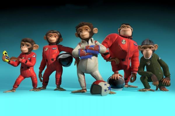 Los Chimpancés del Espacio