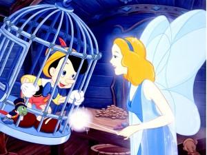 Pinocho y el Hada Azul