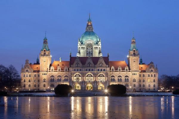 Nuevo ayuntamiento de Hannover, Alemania