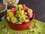 Ensalada de mango, kiwi, sandia y plátano