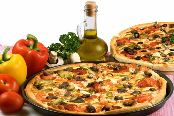 Pizzas de carne