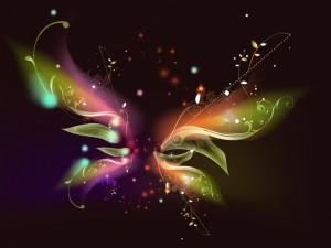 Mariposa de luz