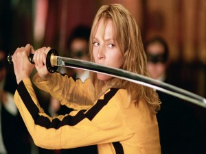 "Postal: Uma Thurman en ""Kill Bill"""