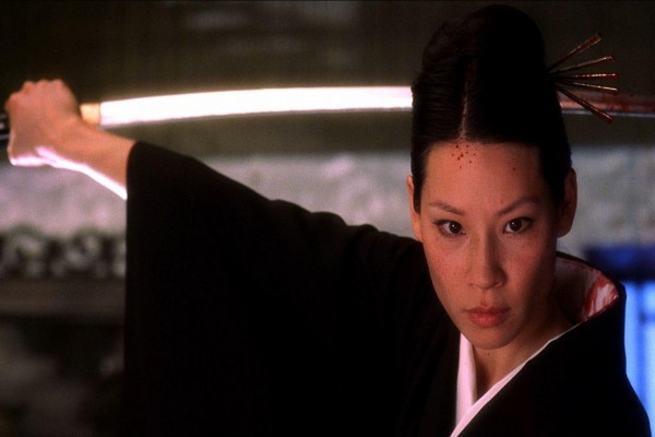 "Lucy Liu en ""Kill Bill"""