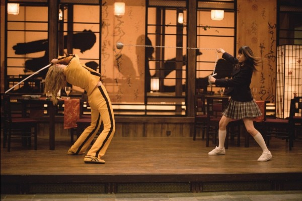 "Escena de lucha en ""Kill Bill"""