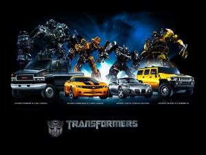 """Vehículos de """"Transformers"""""""