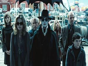 """La familia Collins en """"Sombras tenebrosas"""" (Dark Shadows)"""