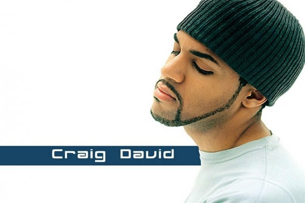 Craig David, cantante inglés de R&B (rhythm and blues)