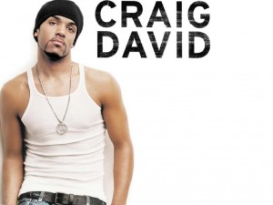 Postal: Craig David en camiseta