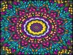 Caleidoscopio multicolor