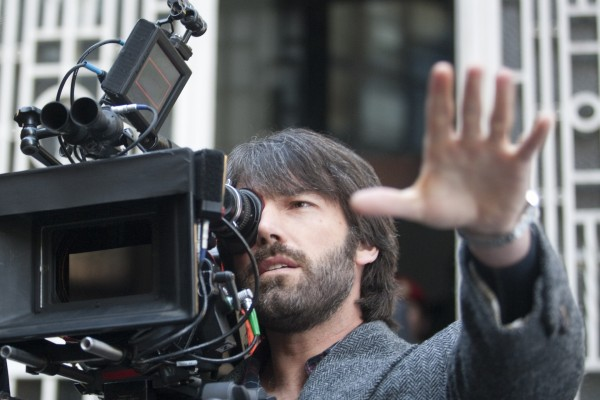 """Ben Affleck trabajando de director en """"Argo"""""""