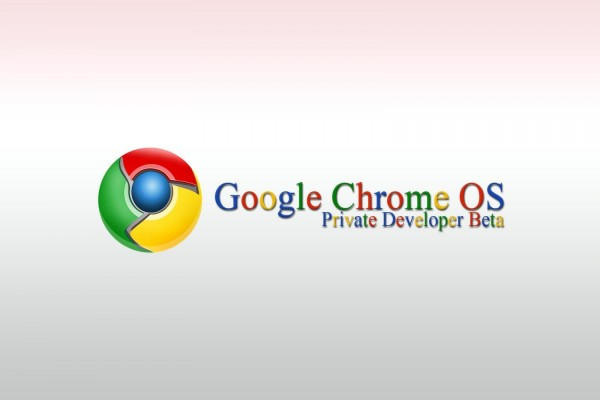 Google Chrome OS. Beta privada para desarrolladores
