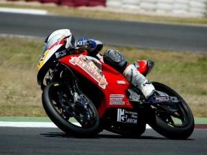 El piloto de motos Alex García