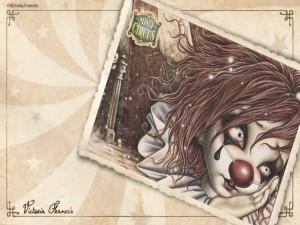 """Postal: """"Misty Circus"""" de Victoria Francés"""