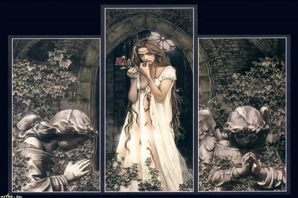 Vampira, por la ilustradora valenciana Victoria Francés