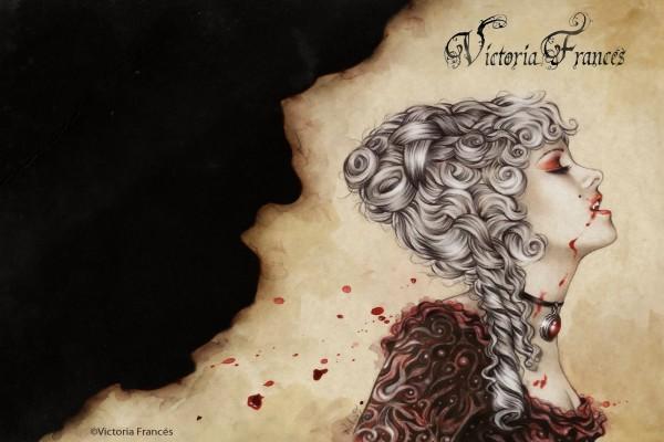 Dama Vampira, ilustración de Victoria Francés