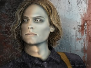 Retrato del actor estadounidense Matthew Gray Gubler