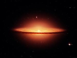 Postal: Galaxia del Sombrero (Messier 104)