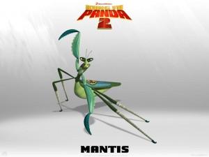 "Postal: Mantis de la película ""Kung Fu Panda 2"""