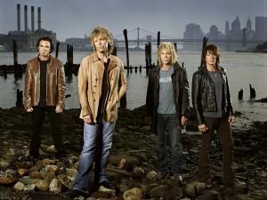 El grupo estadounidense Bon Jovi