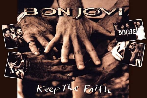"""Bon Jovi, """"Keep The Faith"""" (1992)"""