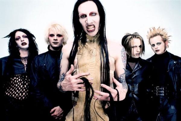 La banda de rock industrial Marilyn Manson