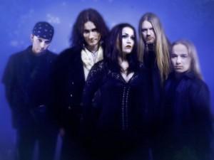 Postal: El grupo finlandés Nightwish