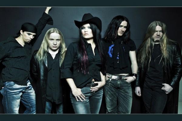 Los componentes del grupo finlandés Nightwish