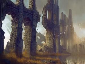 Muros en ruinas