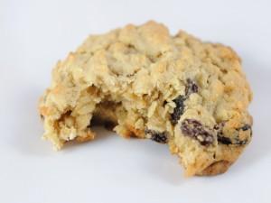 Una cookie mordida