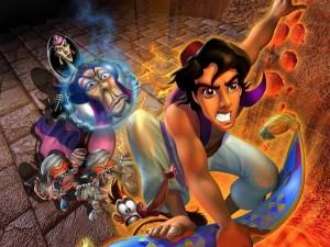Postal: Aladdin y sus enemigos
